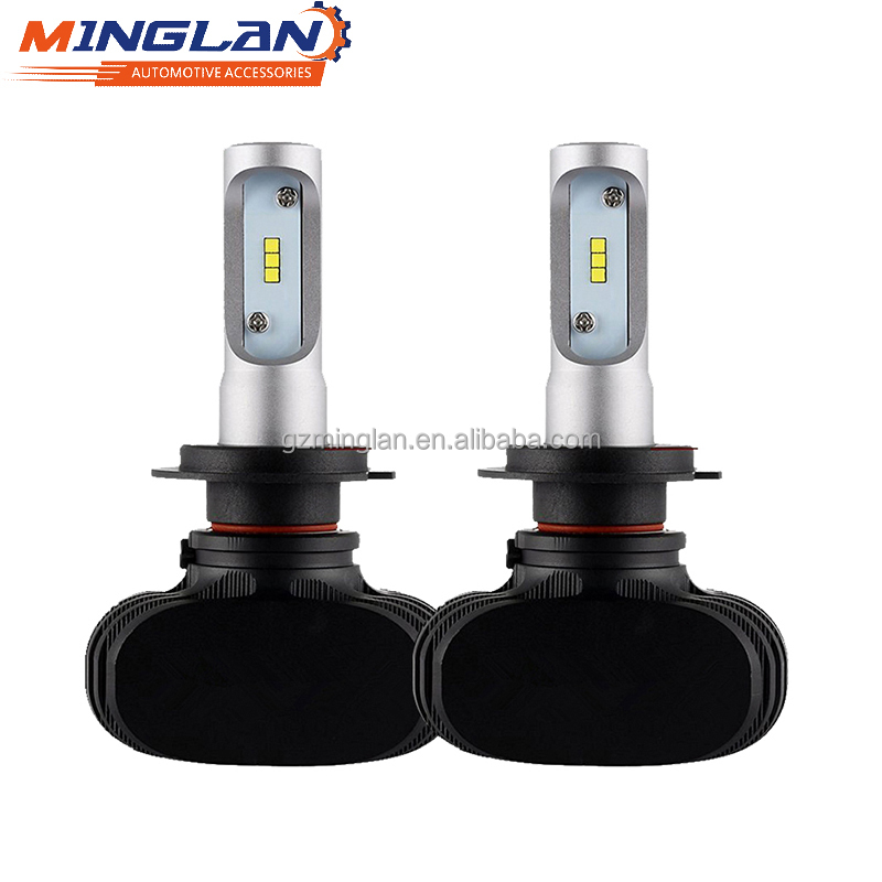 Best price 2017 hot selling S1 Single beam H3 Auto car headlight bulb LED, headlamp LED