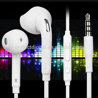 Hot Selling 3.5mm Jack EO-EG920 Wired Stereo Headphone In Ear Earphone For Samsung Galaxy S6 Headset
