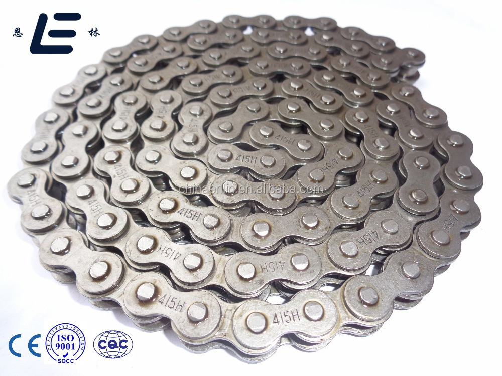 A Quality Cover Best White Pure Grease 415H Motorcycle Chain