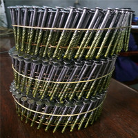 China manufacturer provide all sizes high quality steel nails in coil for wooden pallets