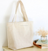 China Manufacture wholesale & recycled blank cotton tote bag/shopping bag