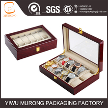 China supplier personalized luxury 12 slots wooden watch box