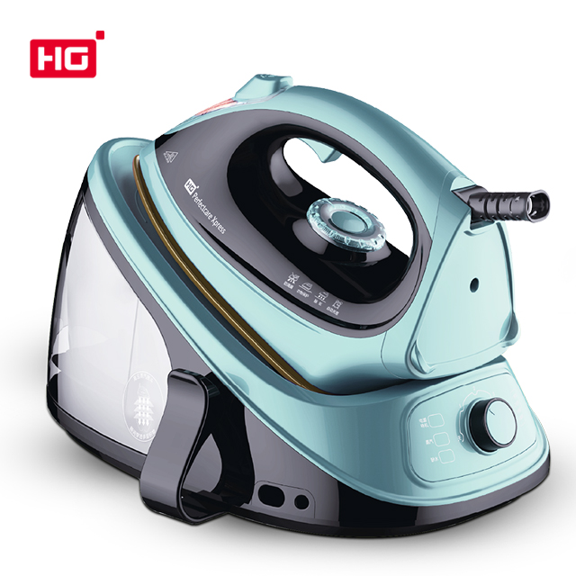 HG528LC-P5-2 Professional hot sell 2100W industrial steam iron station/household steam iron/1.5bar steam station iron