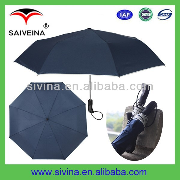 uv protection mini umbrella 21 inches auto open & close 3 folding umbrella