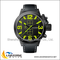 Genuine leather western wrist watches UN5110G-2 in your custom colors