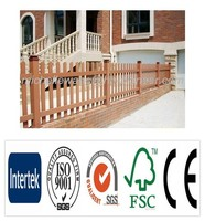 Easy install top quality Europe Popular WPC field fence, farm guard field fence
