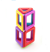 hot sell plastic construction magnetic toys building block