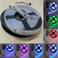 5050 SMD RGB Led Strip WS2811 30Leds DC12V Digital Addressable Magic Dream Color Led Strip Light IP67 Silicone Tube Waterproof
