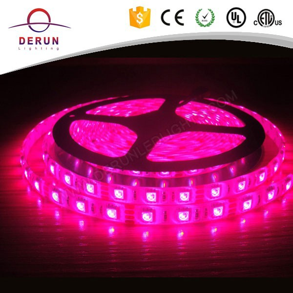 Best price CE ROHS rainbow 50 50 rgb heat resistant led strip