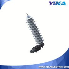 Wenzhou Yika 33KV Polymeric Lightning Arrester for Power Distribution System