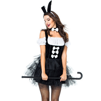 Fancy animal with women sex bunny dance costume