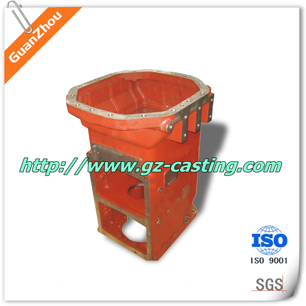 cast integrated transmission cases OEM from China die casting foundry sand casting supplier