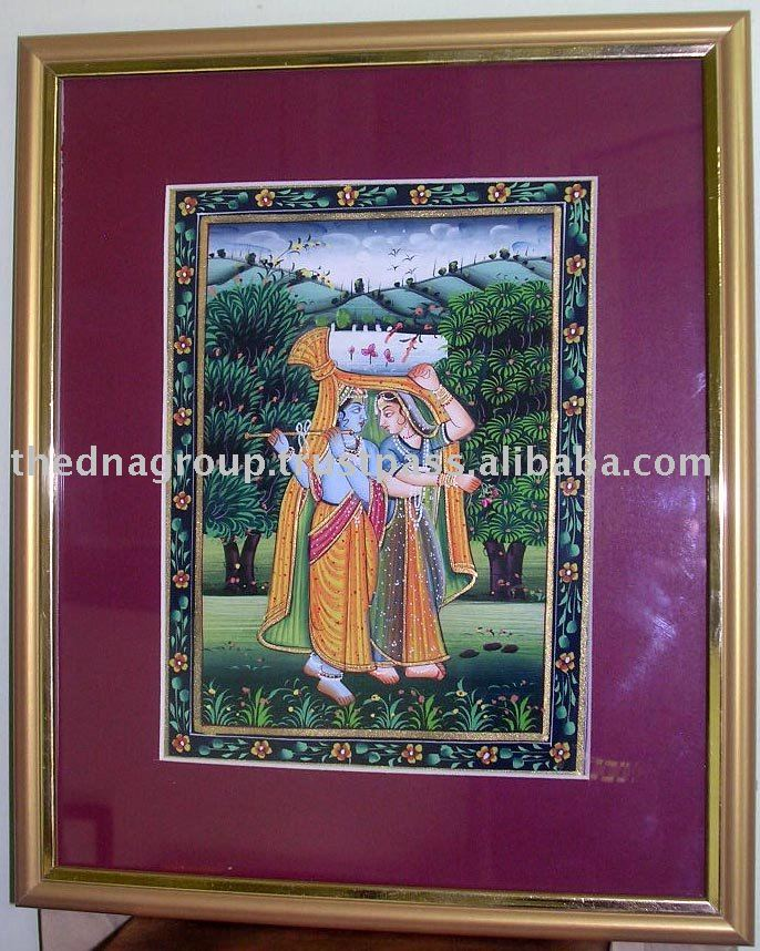 Indian canvas paintings/portrait oil paintings