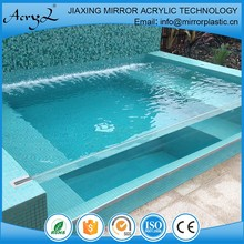 low cost high quality thick acrylic sheet for swimming pool
