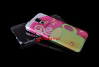 OEM 3D Sublimation clear plastic cell phone cases blank case for Samsung galaxy S5