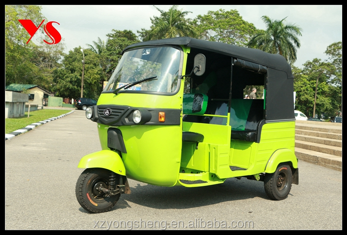 2016 new electric Bajaj rickshaw for india market