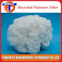 7DX64MM hc recycled polyester staple fiber raw material for bedding