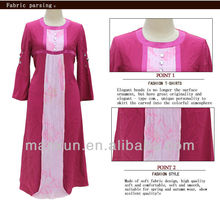 Red Muslim Girl Fashion and Muslim Women Suit, Islamic Long Dress Muslim Baju