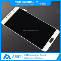 for samsung galaxy note 5 mobile phone lcd display