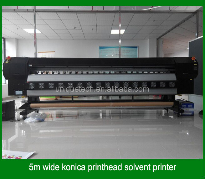 3.2m width H8 512 konica printing head solvent printing machine