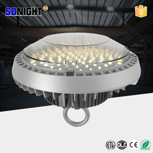 high bay lighting 7 years warranty ip65 200w ufo led high bay light with pc cover