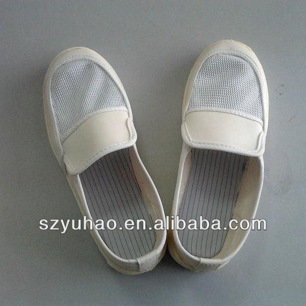 workplace ESD PU mesh shoes