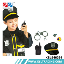 Chenghai manufacturers cosplay boys children police costume