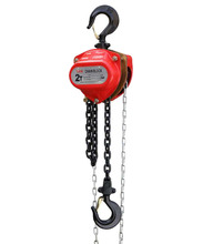High Quality chain block manual pulley block chain hoist with cheap price