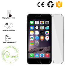 Hot Selling 9H premium real tempered glass film screen protector for iPhone 6 , for iphone 6 screen protector