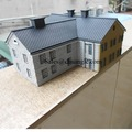 Custom Made Famous Scaled Polyresin 3D Model Building