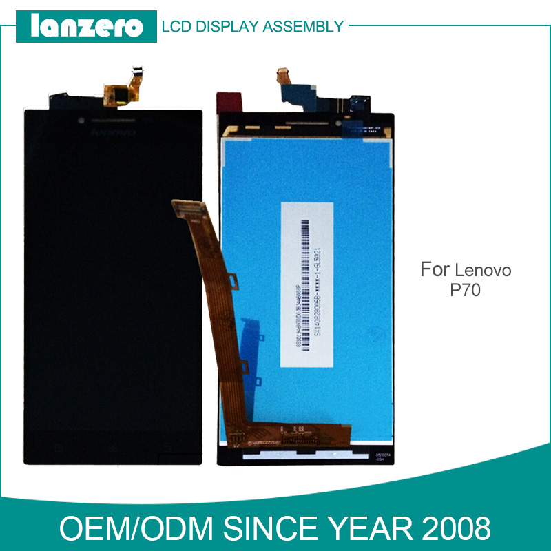 Original Quality for Lenovo P70 Phone LCD Screen Display and Touch Panel Assembly