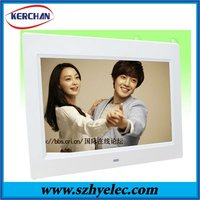 New led panel 10.1 inch digital photo frame album with clock and calendar(DPF9102)