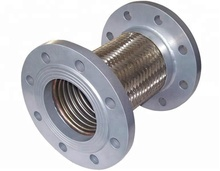 Stainless steel 316L bellows compensator with flange