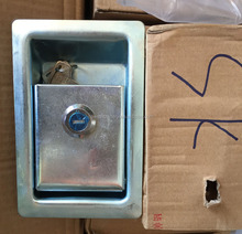 hydraulic panel door lock for Hitachi Kobelco Komatsu excavator