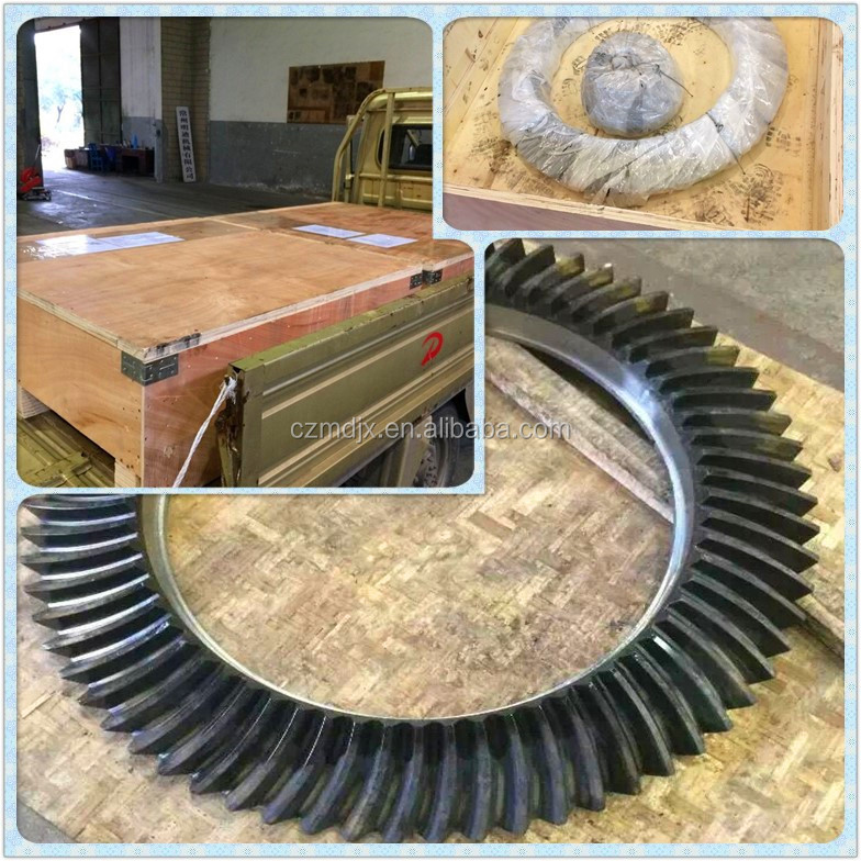 OEM Spiral Bevel Gear/Hypoid Bevel Gear set for Changzhou Mingdi Machinery