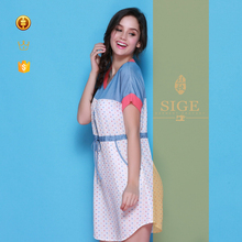 made in china spring summer OEM cotton nighties new product