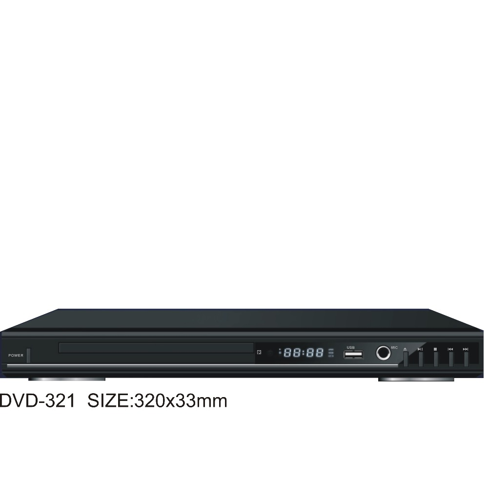 2017 New Looking Home DVD Player with USB Port karaoke