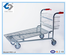300kg Heavy Duty Platform Trolley Hand Truck Foldable Cart