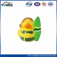 New design customized top quality flashing rubber bath toy
