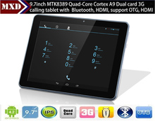 9.7 inch Quad Core Android 4.2 Tablet Pc MTK 6589