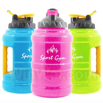 Customized Logo 2.5L Big PETG Water Bottle for gym