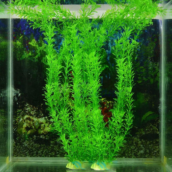 2018 40cm Underwater Artificial Plant Grass for Aquarium Fish Tank Landscape Decor