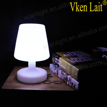 DHL Fast shipping Sample Rechargeable Cordless Desk Light Wedding Battery Powered LED Table Lamps For Stage