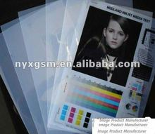 Matte Clear Digital Inkjet Film Positive Screen Printing Transparency Plate Films