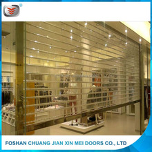 high quality rolling shutter parts for plastic jalousie doors
