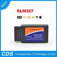 2016 High Quality ELM327 Wifi Scanner Auto OBD2 Diagnostic Tool ELM 327 WIFI OBDII Scanner V 1.5 Wireless For Both Android / IOS
