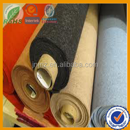 Wool felt fabric roll