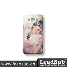 Good selling 3d blank mobile phone cases for custom sublimation printing for Samsung A8