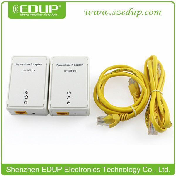 200Mbps Powerline Etherent Adapter Ethernet Bridge US, UK, AU, EU Type