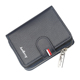 High quality new arrival mens leather wallet coin purse for business man baellerry brand wallet